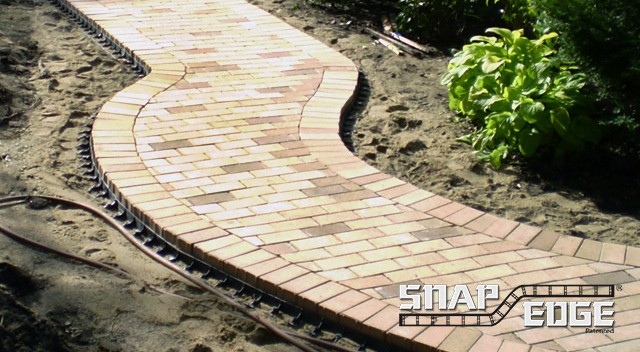 Paving Stone Edging